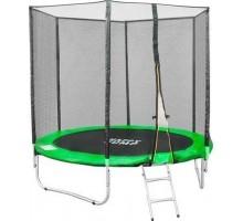 Батут Happy Jump Green 8ft Pro 252см