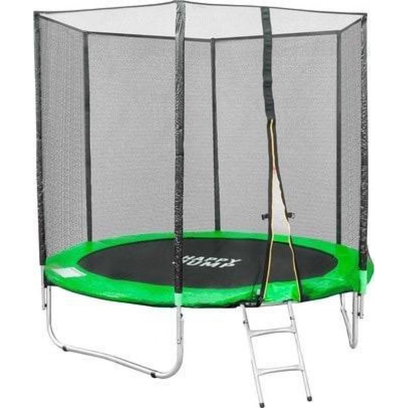 Батут Happy Jump Green 8ft Pro