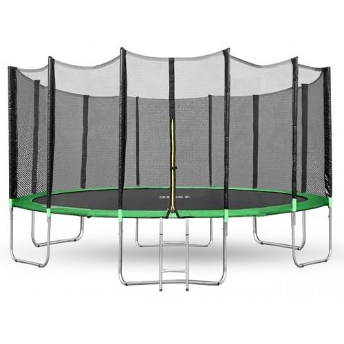 Батут Happy Jump Green 16ft Pro 490см