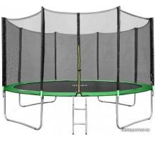 Батут Happy Jump Green 15ft Pro 457см