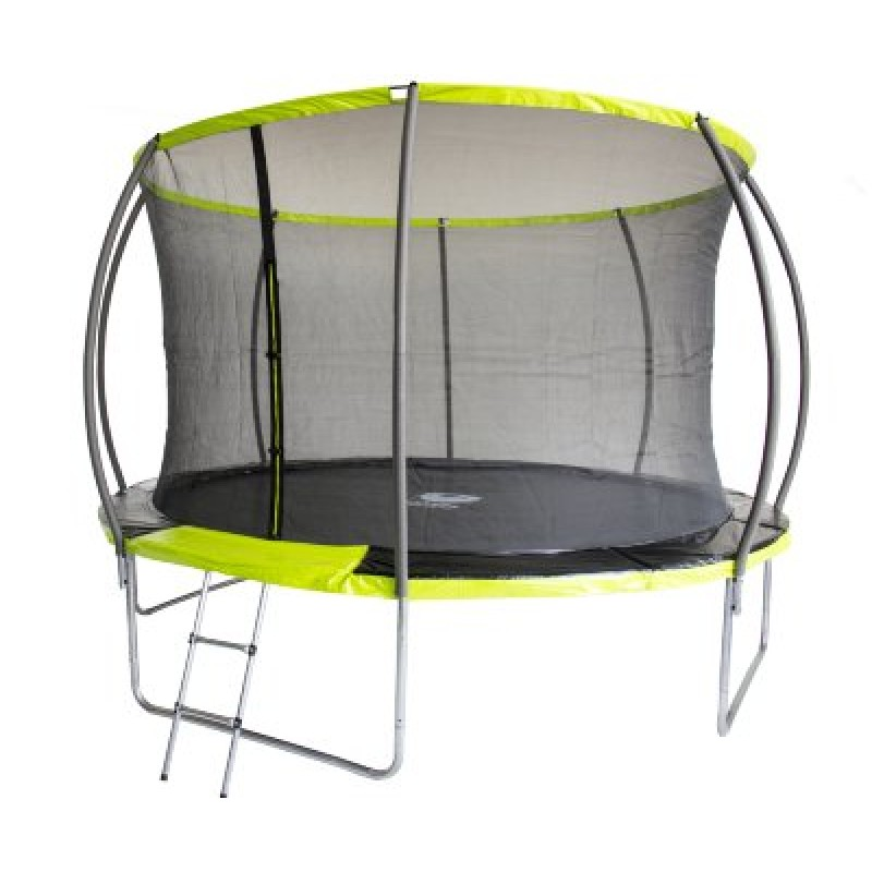 Батут Fitness Trampoline GREEN 10 FT Extreme Inside