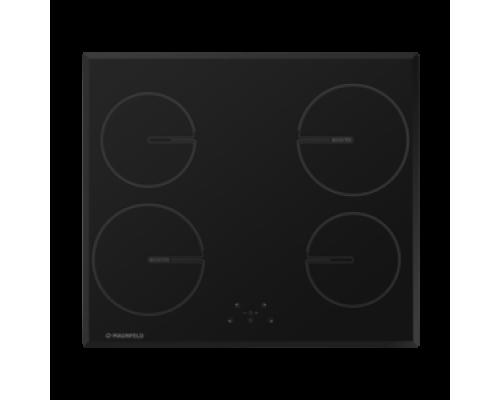 Индукционная панель MMAUNFELD MVI59.4HZ.2BT-BK, черное стекло