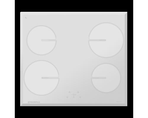 Индукционная панель MAUNFELD MVI59.4HZ.2BT-WH, белое стекло