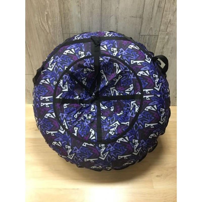 Тюбинг MakPol Фиолетовый с рисунком D90см