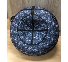 Тюбинг MakPol Серо-синий с рисунком D120см