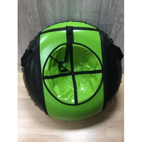 Тюбинг MakPol Зелено-черный D110см