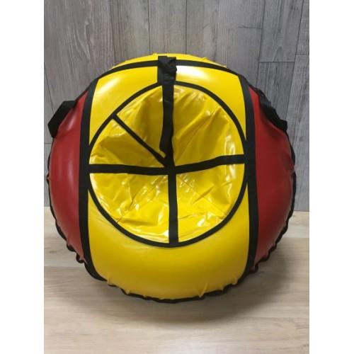 Тюбинг MakPol Красно-желтый D100см