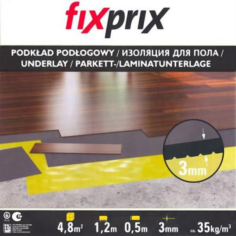 Подложка листовая 3 мм Fix Prix (Польша)