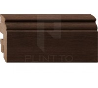 Плинтус MDF Plintto Tип-2 Brown Oak