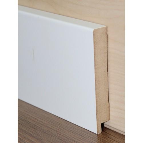 Плинтус МДФ Профиль ПП 1280 Белый